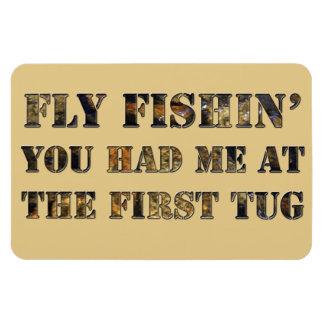 ¡Vuele el fishin que usted me tenía en el primer t Imán Flexible