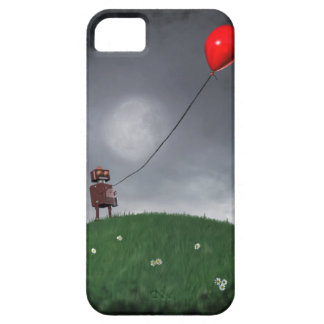 Vuele su pequeño globo rojo iPhone 5 Case-Mate funda