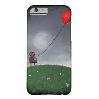 Vuele su pequeño globo rojo funda de iPhone 6 slim