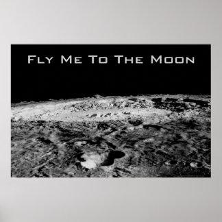 Vuéleme a la luna póster