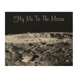 Vuéleme a la luna cuadros de madera