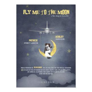 Vuéleme al boda de la luna 2 - cartel de película anuncio personalizado