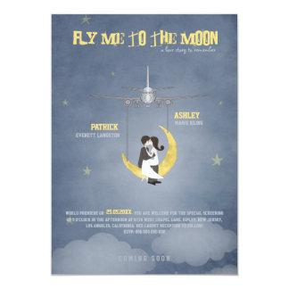 Vuéleme al boda de la luna 2 - cartel de película invitaciones personales
