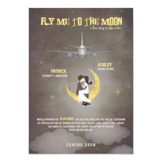 Vuéleme al boda de la luna 2 - cartel de película invitacion personalizada