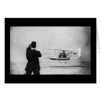 Vuelo 1909 del aeroplano de Wilbur Wright Tarjetas