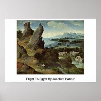 Vuelo a Egipto de Joaquín Patinir Impresiones