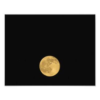Vuelo a la luna fotografías
