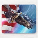 vuelo americano del águila tapete de raton