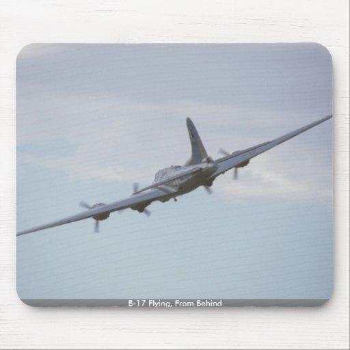 Vuelo B-17, de detrás Tapetes De Ratón