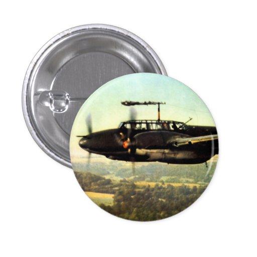 Vuelo bajo ME-110 alemán de WWII Pins