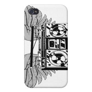 Vuelo Boombox iPhone 4/4S Carcasas