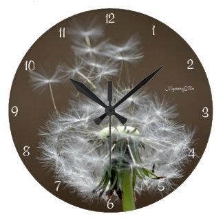 """""""vuelo bueno"""" by mysteryella reloj redondo grande"""