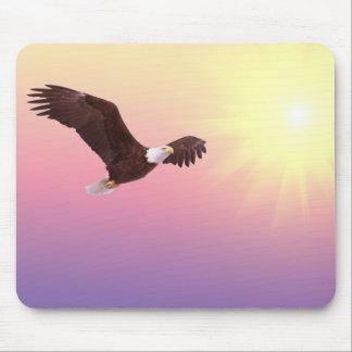 Vuelo de Eagle Tapete De Ratón