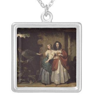 Vuelo de Henrietta-Maria Francia, reina de Collar Plateado