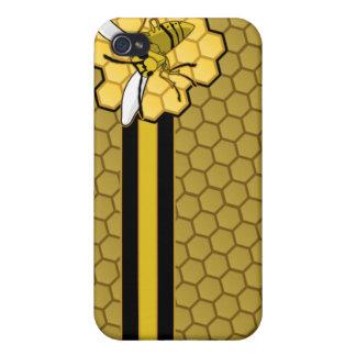 Vuelo de la abeja lejos del panal iPhone 4/4S fundas