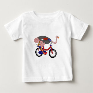 Vuelo de la avestruz t shirts