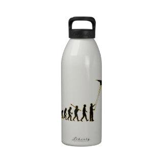 Vuelo de la cometa botellas de agua reutilizables