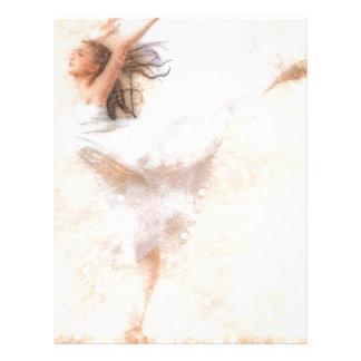 Vuelo de la danza membretes personalizados
