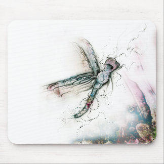 Vuelo de la libélula tapete de ratones