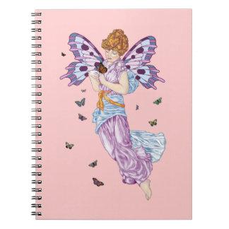 Vuelo de la mariposa cuaderno