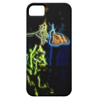 Vuelo de la mariposa iPhone 5 fundas