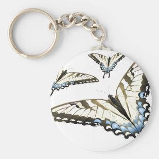 Vuelo de la mariposa llaveros