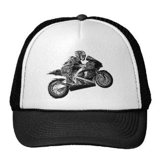Vuelo de la motocicleta gorro