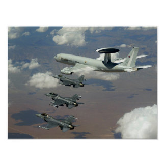 Vuelo de la OTAN Póster