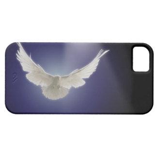 Vuelo de la paloma a través del haz de luz funda para iPhone SE/5/5s