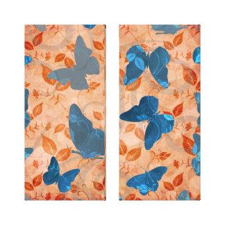 Vuelo de las mariposas impresiones en lona