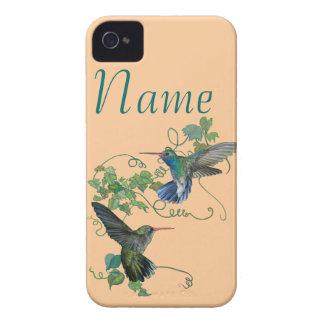 Vuelo de los colibríes iPhone 4 fundas