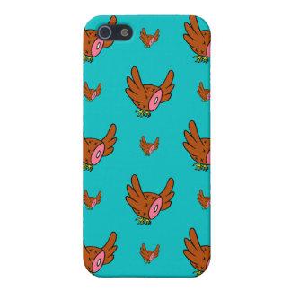 Vuelo de los halcones del jamón iPhone 5 fundas