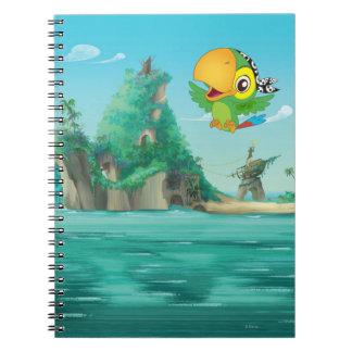 Vuelo de Skully Spiral Notebooks