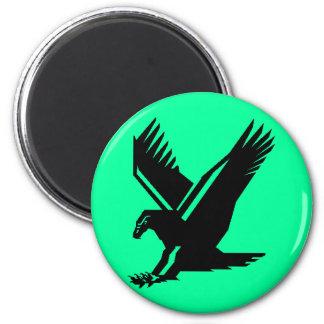 vuelo del águila imán de frigorifico