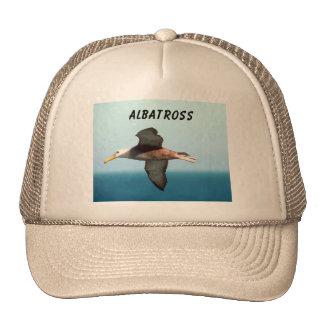 Vuelo del albatros gorro de camionero