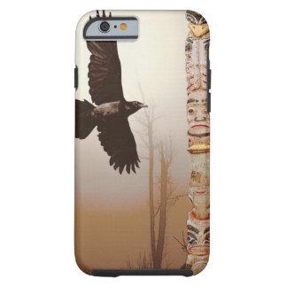 Vuelo del alcohol y del tótem del cuervo funda de iPhone 6 tough
