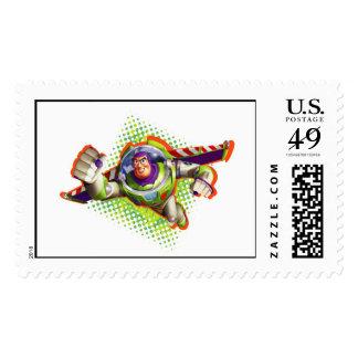 Vuelo del año ligero del zumbido sellos postales