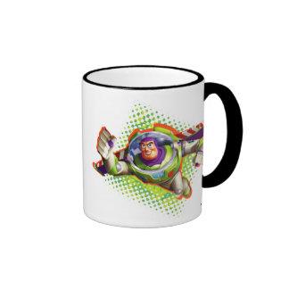 Vuelo del año ligero del zumbido taza de dos colores