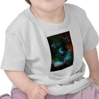 Vuelo del arte del fractal de Corbius Camiseta