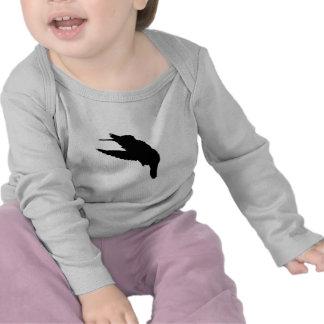Vuelo del colibrí camisetas
