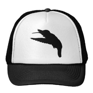 Vuelo del colibrí gorras de camionero