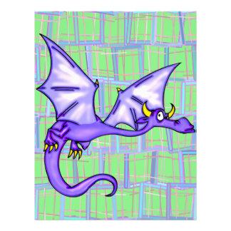 """Vuelo del dragón folleto 8.5"""" x 11"""""""