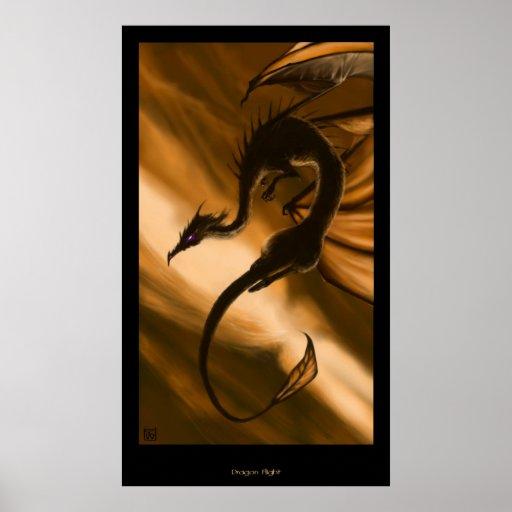 Vuelo del dragón poster