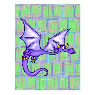 Vuelo del dragón tarjetas postales