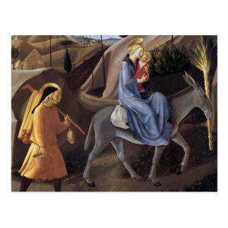 Vuelo del Fra Angelico- en Egipto Postal