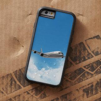 Vuelo del jet en el cielo funda para  iPhone 6 tough xtreme