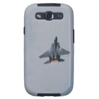 Vuelo del jet F15 Samsung Galaxy S3 Fundas