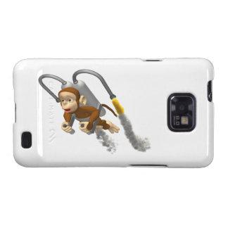 Vuelo del mono con Jetpack Galaxy S2 Funda