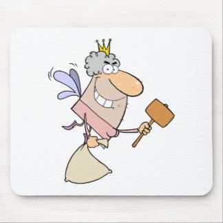 Vuelo del ratoncito Pérez con un mazo y un bolso Tapete De Ratones