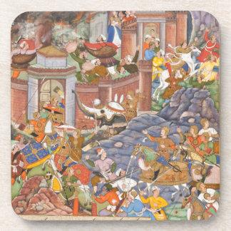 Vuelo del sultán Bahadur durante la campaña de Hum Posavaso